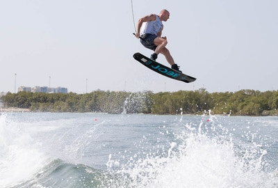 Dale Crossley at the 2019 Worlds Abu Dhabi - Photo Chris West