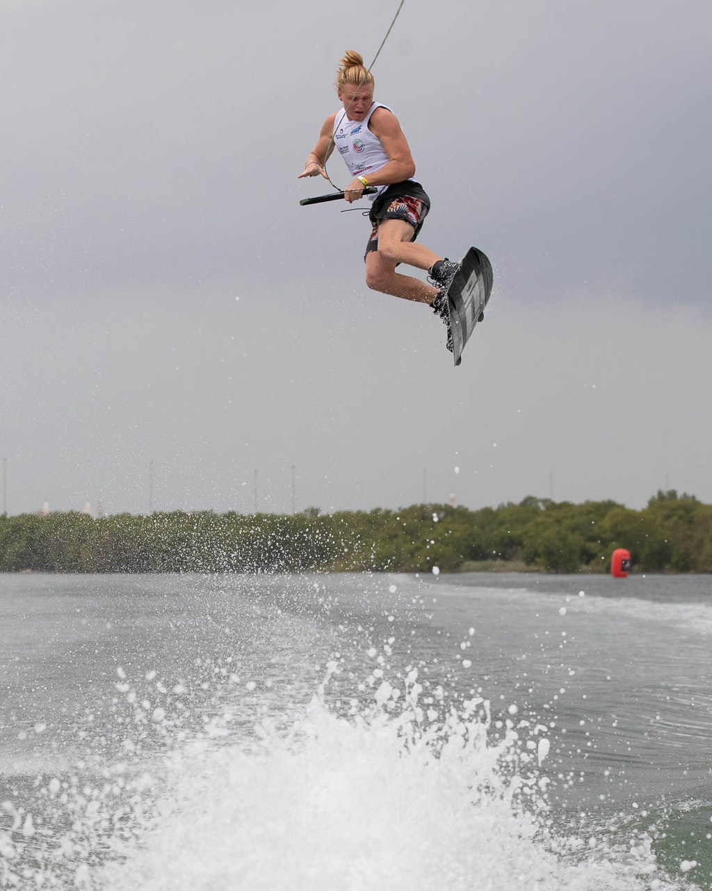 Luca Kidd, TeamGB 🇬🇧, at the 2019 Worlds in Abu Dhabi