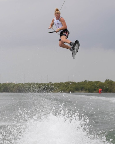 Luca Kidd at the 2019 Worlds Abu Dhabi - Photo Chris West