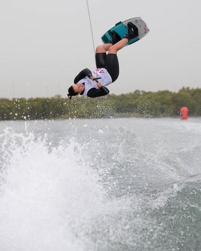 Melissa Lock at the 2019 Worlds Abu Dhabi
