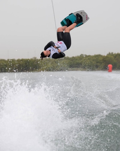 Melissa Lock at the 2019 Worlds Abu Dhabi - Photo Chris West
