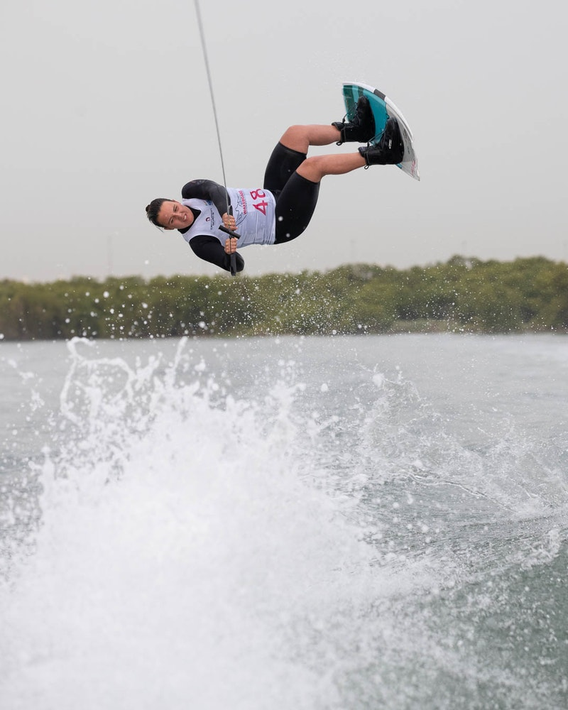 Melissa Lock at the 2019 Worlds Abu Dhabi