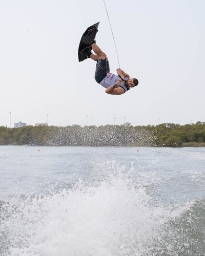 Ross Phillips at the 2019 Worlds Abu Dhabi - Photo Chris West