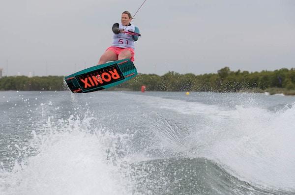 Sarah Partridge at the 2019 Worlds Abu Dhabi