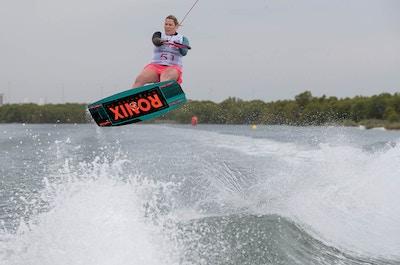 Sarah Partridge at the 2019 Worlds Abu Dhabi - Photo Chris West