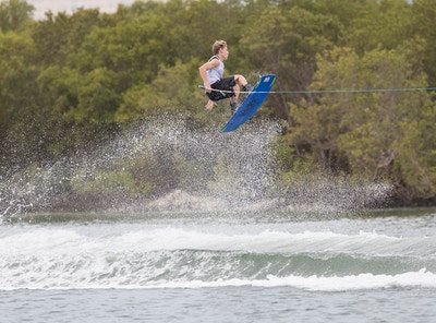 Travis Beaton at the 2019 Worlds Abu Dhabi - Photo Chris West