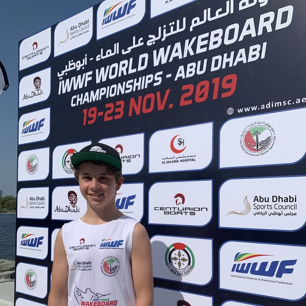 Joseph Humphries at the 2019 Worlds Abu Dhabi
