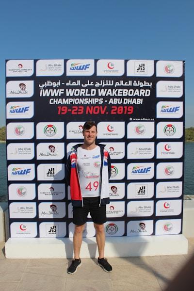 Matty Mc Creadie at the 2019 Worlds Abu Dhabi - Photo Courtney Angus