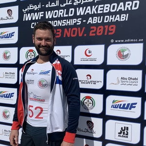 Ross Phillips at the 2019 Worlds Abu Dhabi - Photo Courtney Angus