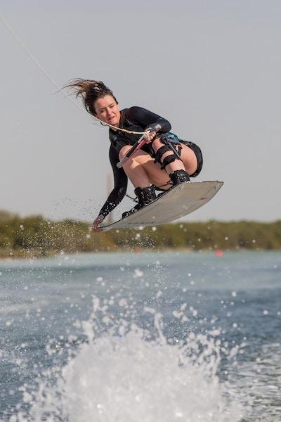 Charlotte Millward at the 2019 Worlds Abu Dhabi - Photo Mark Osmond