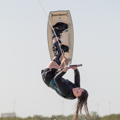 Charlotte Millward at the 2019 Worlds Abu Dhabi