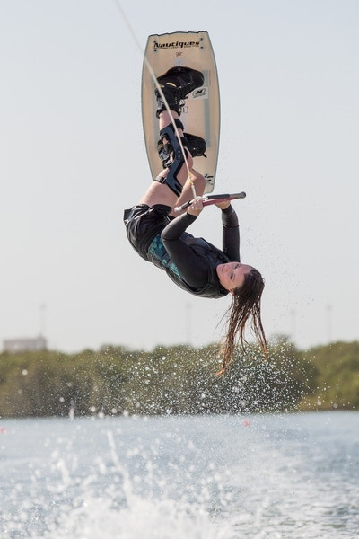 Charlotte Millward at the 2019 Worlds Abu Dhabi - Photo Mark Osmond