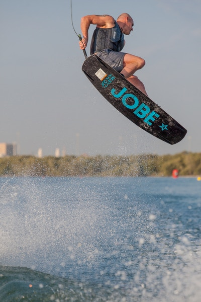 Dale Crossley at the 2019 Worlds Abu Dhabi - Photo Mark Osmond