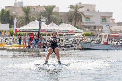 Katie Batchelor at the 2019 Worlds Abu Dhabi - Photo Mark Osmond