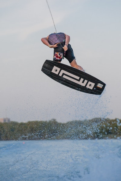 Luca Kidd at the 2019 Worlds Abu Dhabi