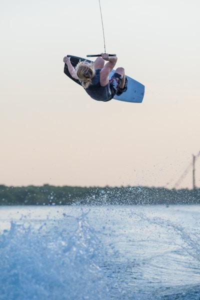 Luca Kidd at the 2019 Worlds Abu Dhabi - Photo Mark Osmond