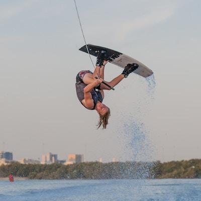 Luca Kidd at the 2019 Worlds Abu Dhabi