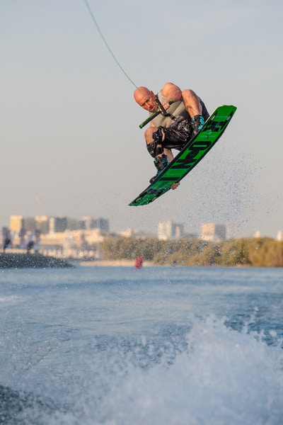 Mark Goldsmith at the 2019 Worlds Abu Dhabi - Photo Mark Osmond