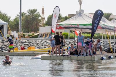 Melissa Lock at the 2019 Worlds Abu Dhabi - Photo Mark Osmond