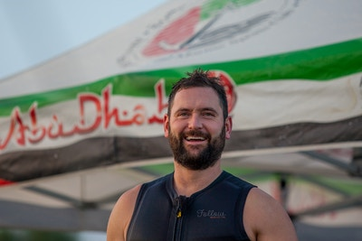 Ross Phillips at the 2019 Worlds Abu Dhabi - Photo Mark Osmond
