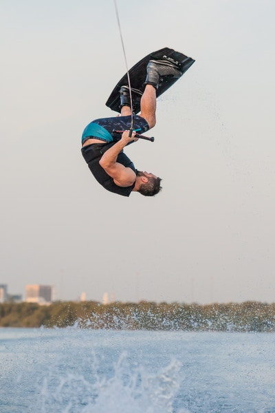 Ross Phillips at the 2019 Worlds Abu Dhabi - Photo Mark Osmond