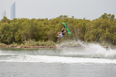 Ross Phillips at the 2019 Worlds Abu Dhabi