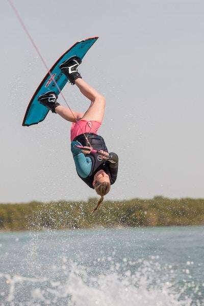 Sarah Partridge at the 2019 Worlds Abu Dhabi - Photo Mark Osmond