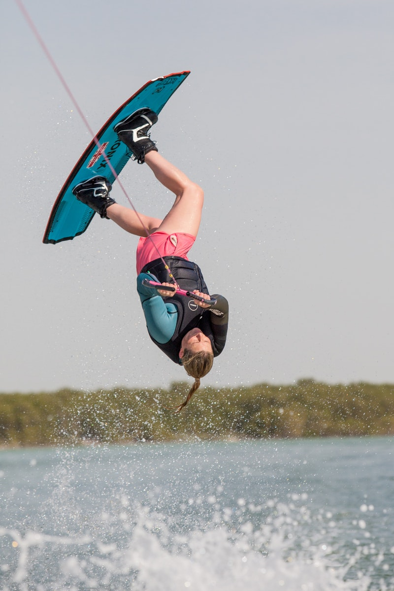 Sarah Partridge at the 2019 Worlds Abu Dhabi
