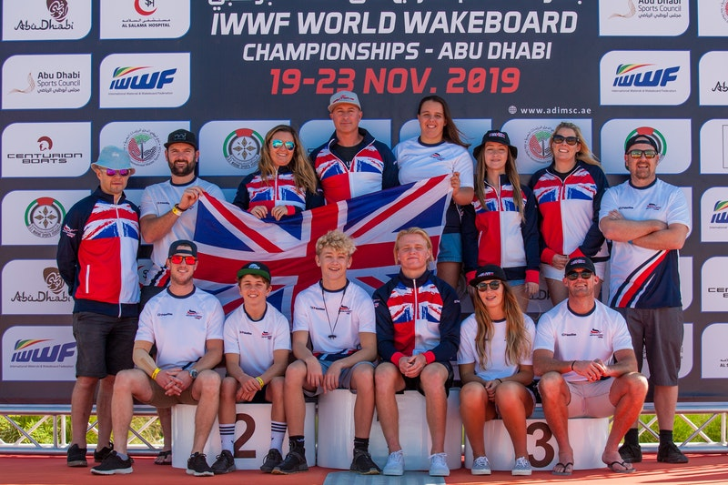 Team GB at the 2019 Worlds Abu Dhabi