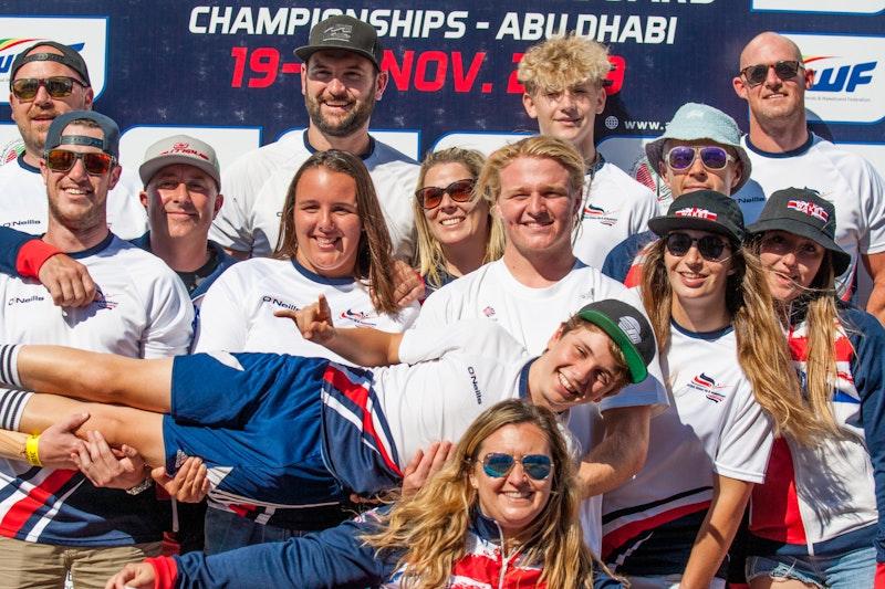 Team GB at the 2019 Worlds Abu Dhabi