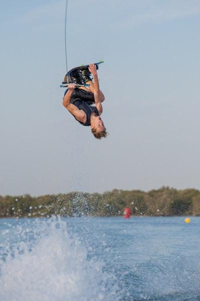 Travis Beaton at the 2019 Worlds Abu Dhabi - Photo Mark Osmond