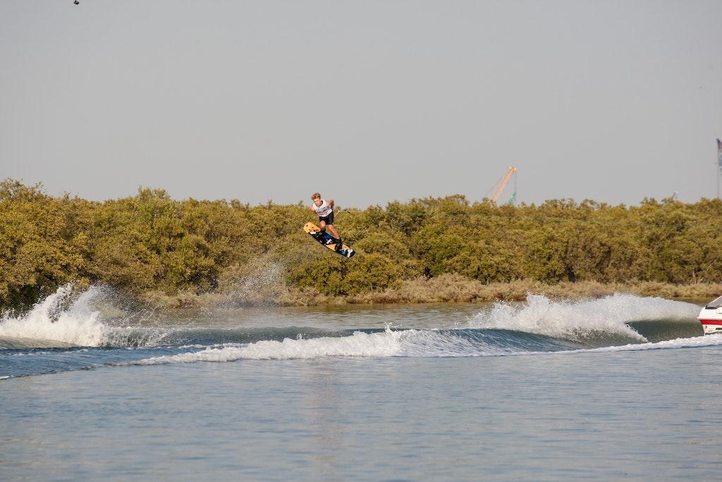 Travis Beaton at the 2019 Worlds Abu Dhabi