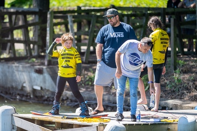 Oliver Woolgrove at the 2020 British Wakeboard Squad - Photo Mantis Pro Media