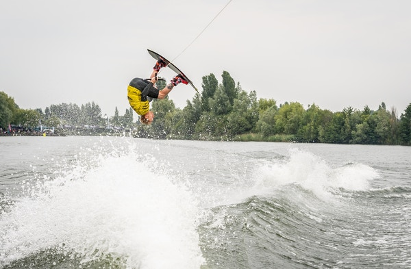 Scott O Keefe at the 2020 British Wakeboard Squad