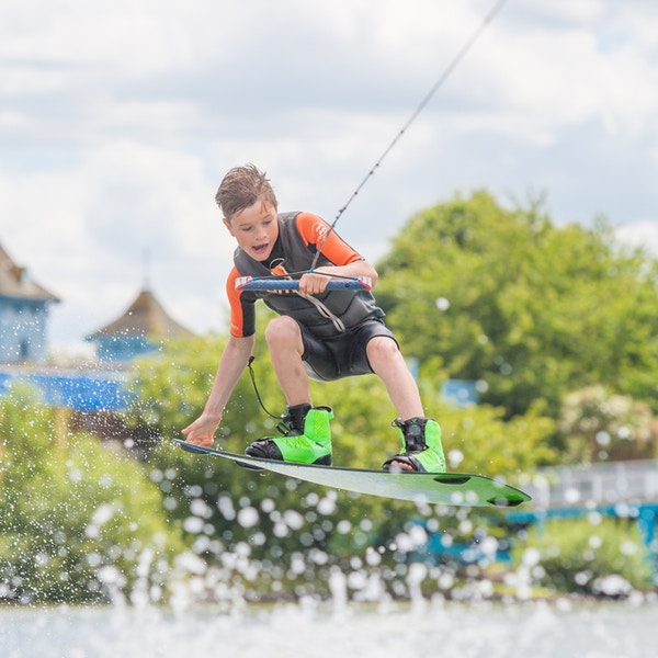 Charlie Lloyd at the 2020 British Wakeboard Squad