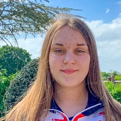 Chelsea Willis at the 2020 British Wakeboard Squad - Photo Mark Osmond