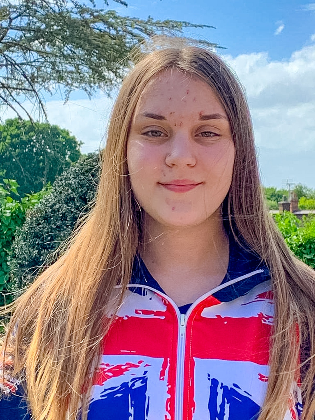Chelsea Willis at the 2020 British Wakeboard Squad
