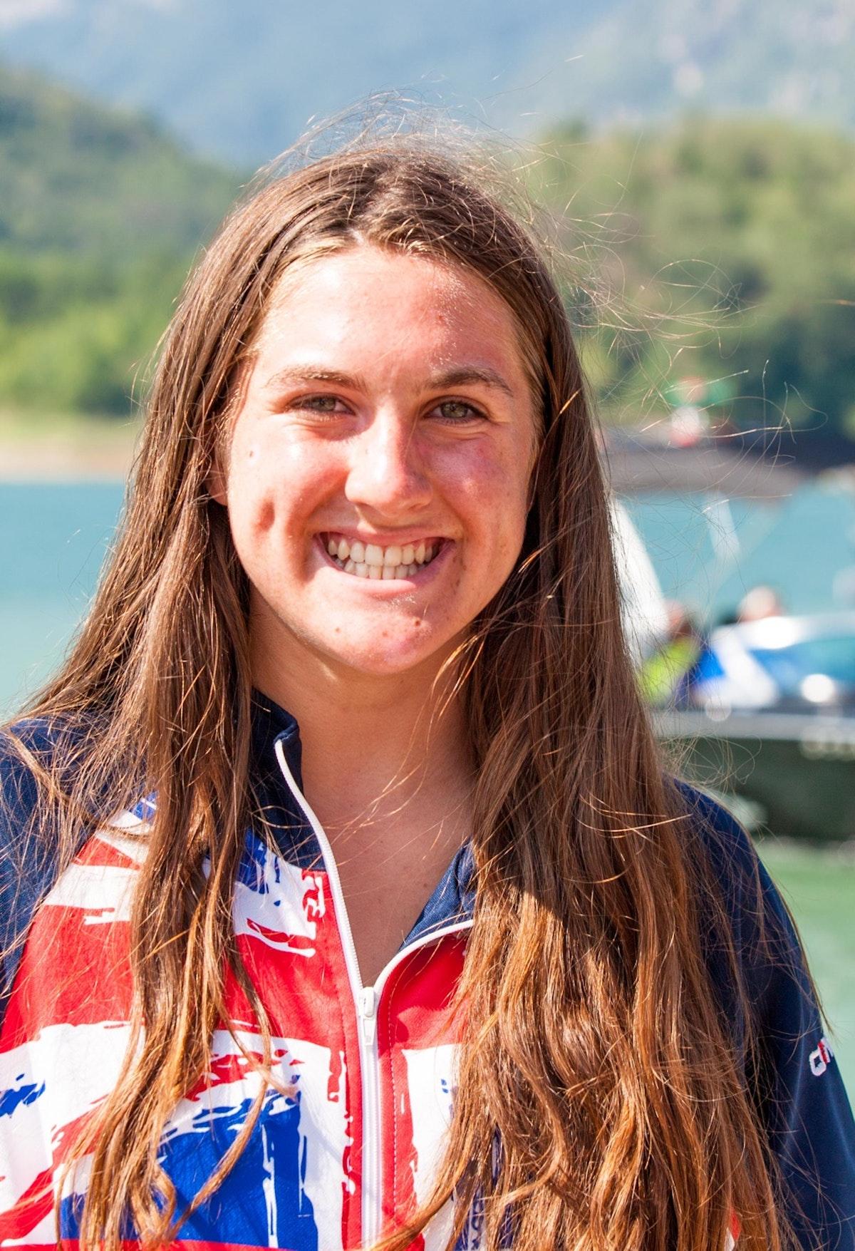 Eliza Riley at the 2020 British Wakeboard Squad