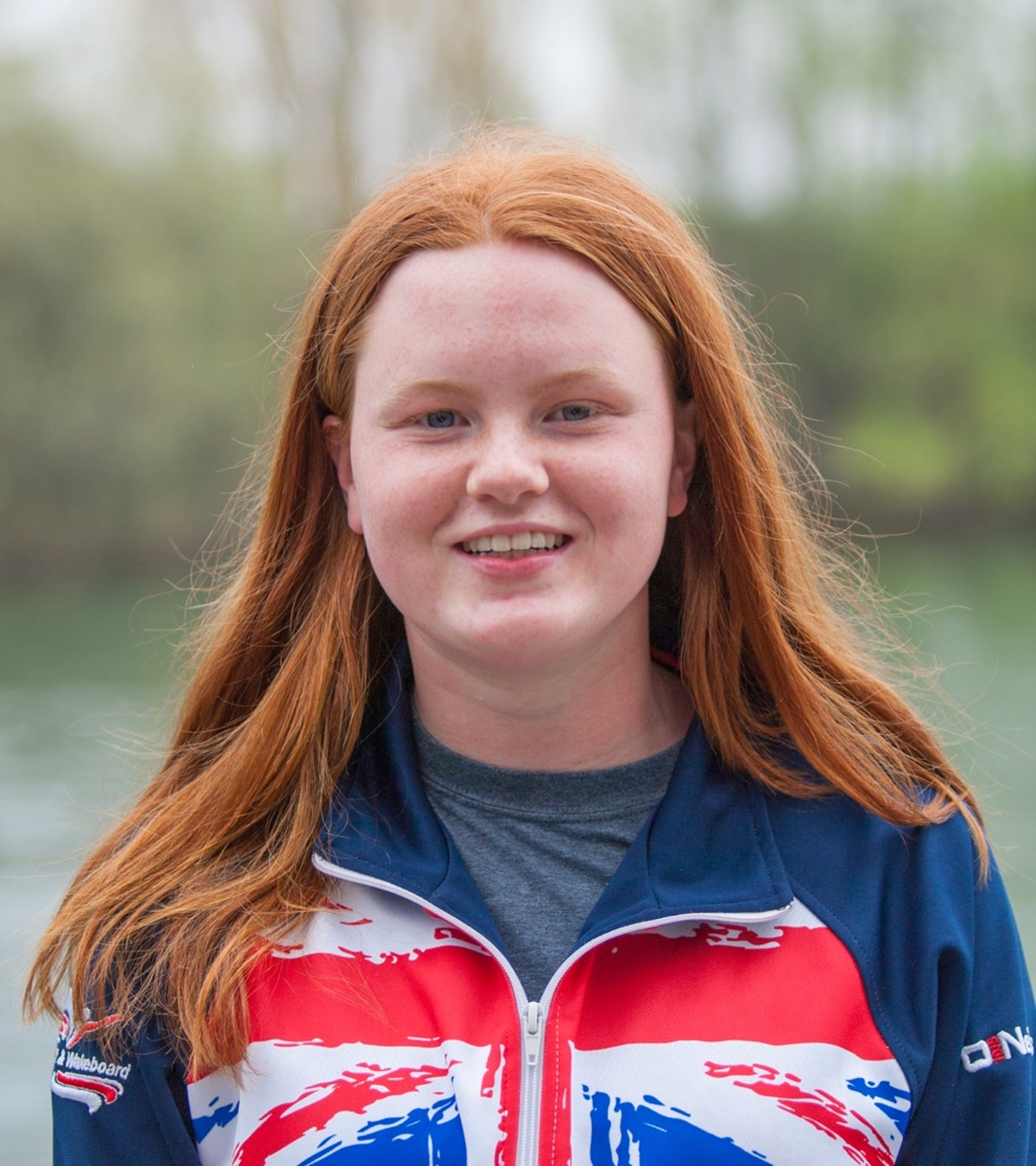 Emily Reid at the 2020 British Wakeboard Squad