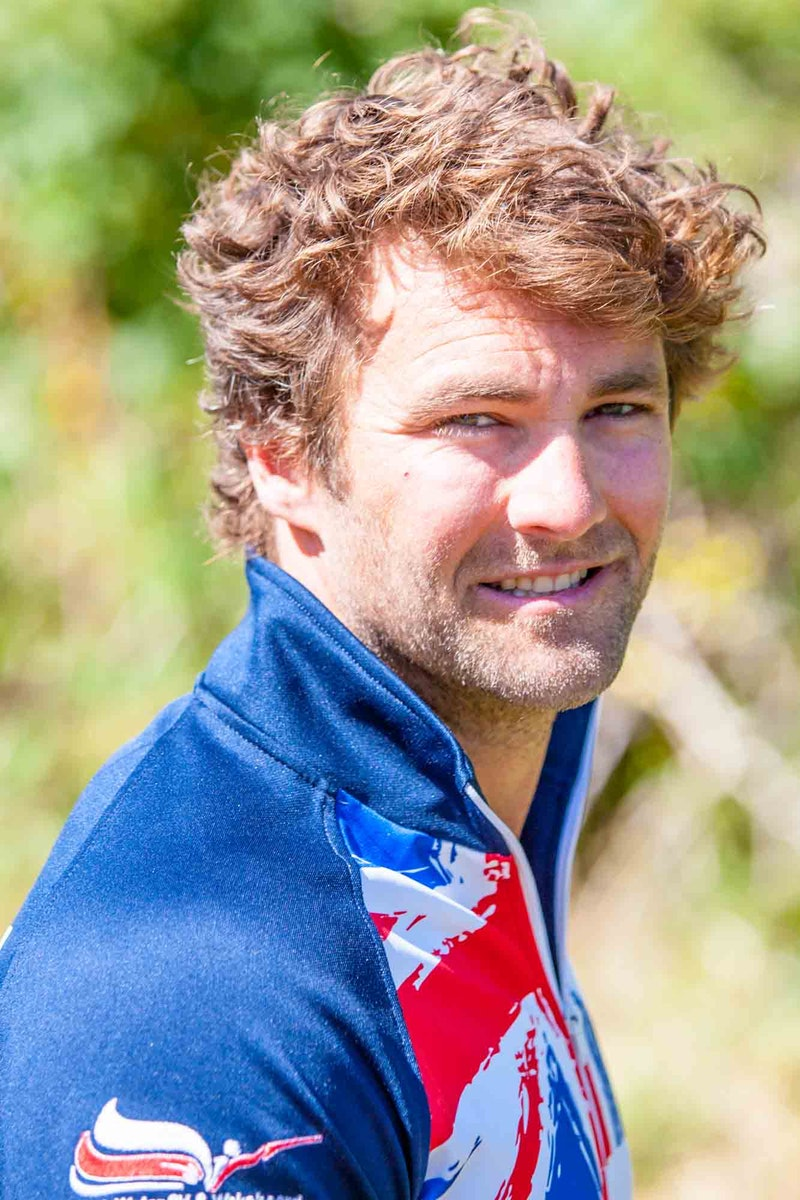 Lee Debuse at the 2020 British Wakeboard Squad