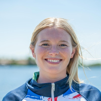 Nancy Creedy at the 2020 British Wakeboard Squad.