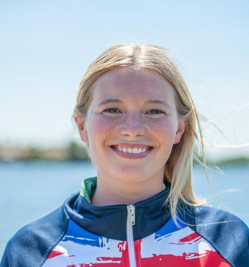 Nancy Creedy at the 2020 British Wakeboard Squad.