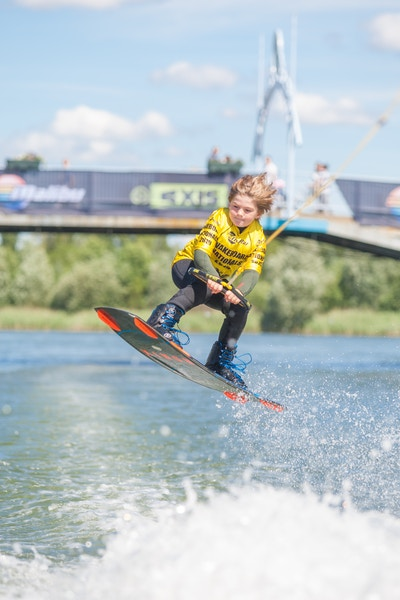 Oliver Woolgrove at the 2020 British Wakeboard Squad - Photo Mark Osmond