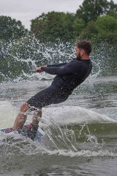 Rich Phillips at the 2020 British Wakeboard Squad - Photo Mark Osmond