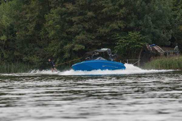 Rich Phillips at the 2020 British Wakeboard Squad