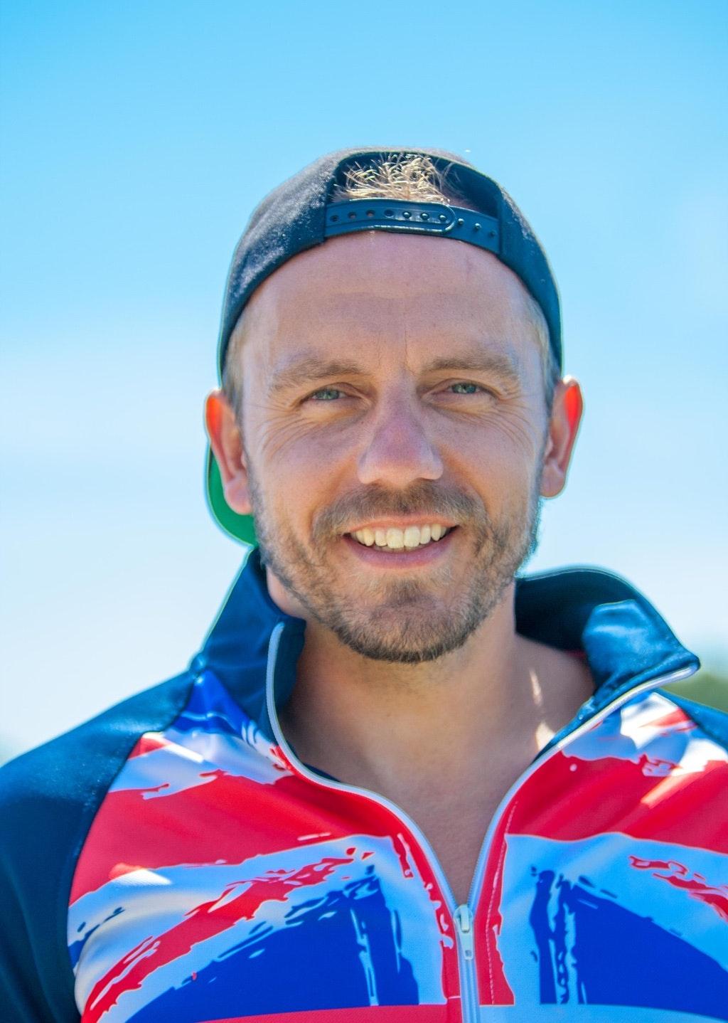 Tony Snelgrove at the 2020 British Wakeboard Squad