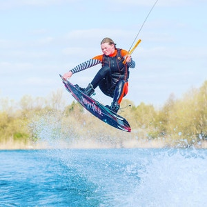 Nancy Creedy at the 2020 British Wakeboard Squad - Photo Perry Lux
