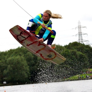 Nancy Creedy, member of the 2020 British Wakeboard Squad - Photo Perry Lux