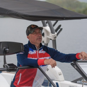 Mark Goldsmith, Readying the Super Air Nautique G25 for GB Squad Practice at ISIS - Photo Mark Osmond