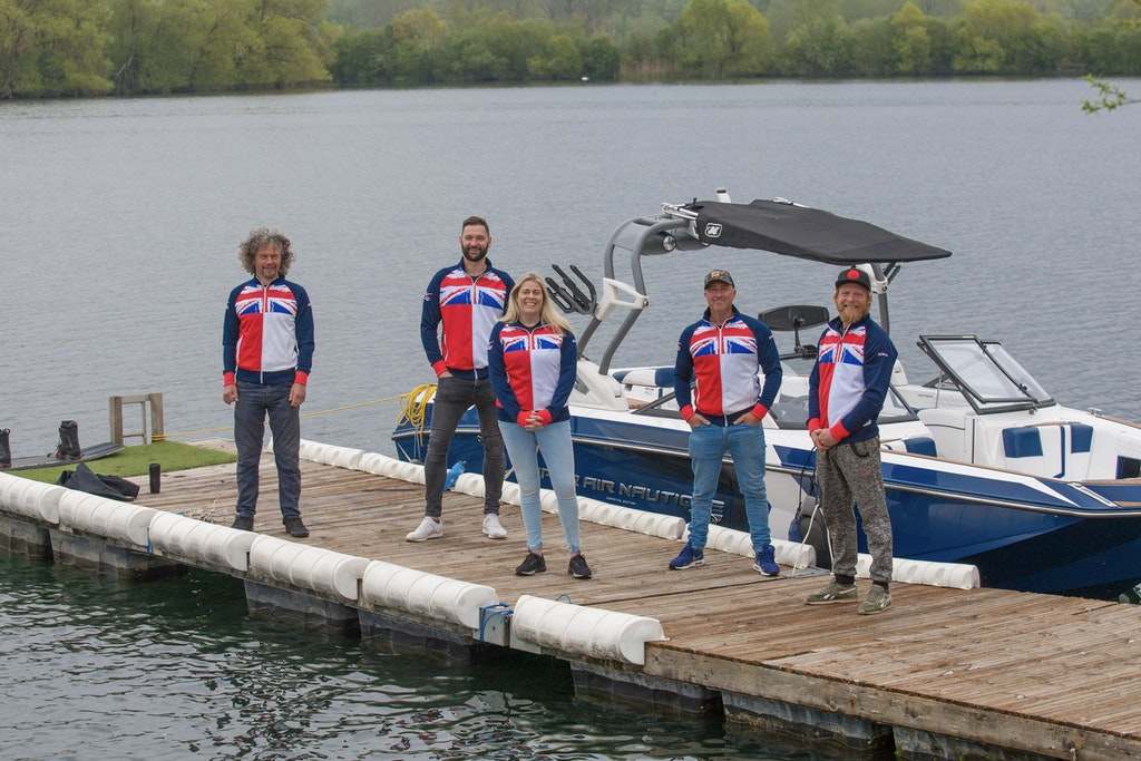 British Squad Practice at ISIS Wakeboarding & Water Skiing Club